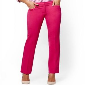 new york and company pink ankle pants